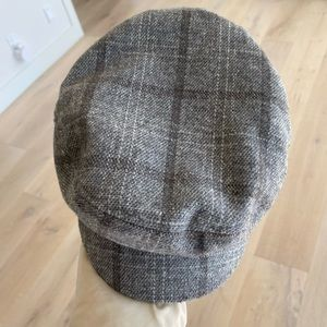 Brixton might greg checked boy cap